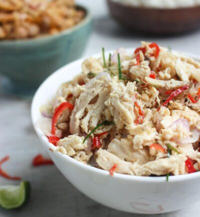 Spicy Balinese Shredded Chicken (Ayam Sisit)